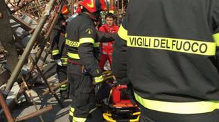 Incidente sul lavoro a Savona
