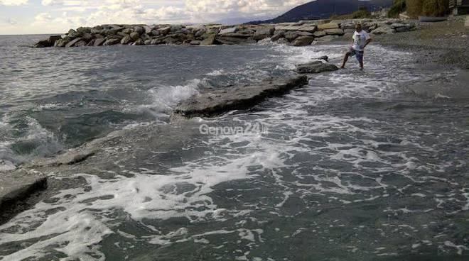 Inquinamento Stoppani in mare