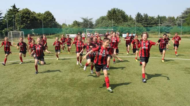Milan camp a Santa Margherita