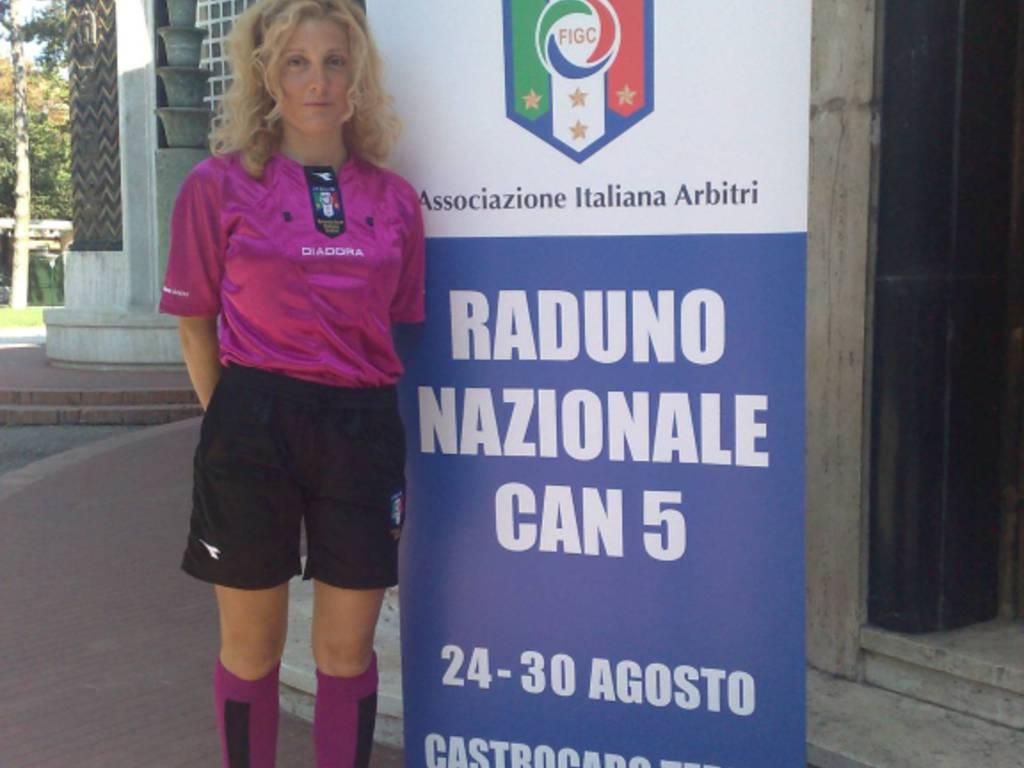 Monica Croci arbitro aia calcio a cinque