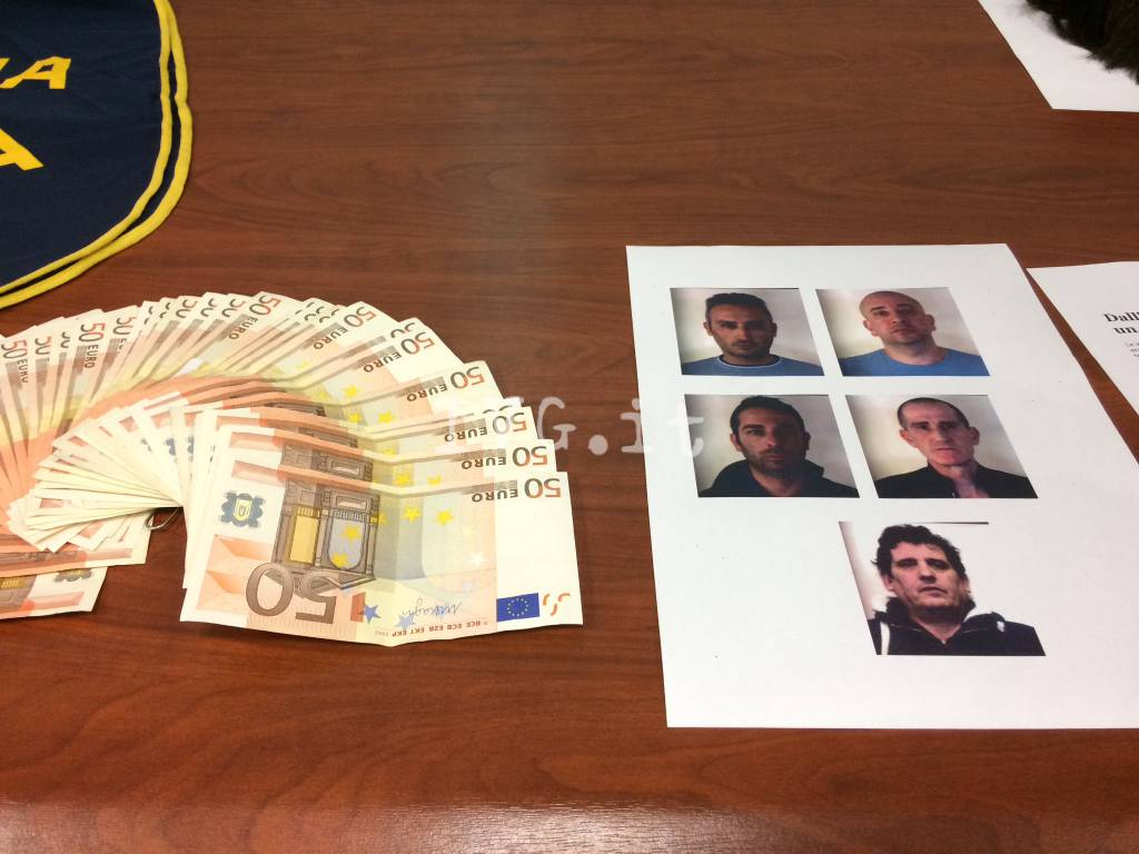 Operazione carabinieri arresto rapinatori