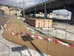 Pista ciclabile in via Buozzi: i lavori