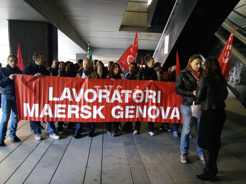 protesta maersk