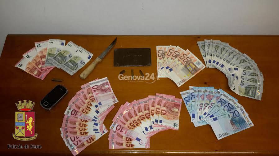 Sequestro di soldi e hashish