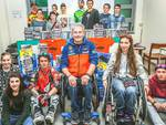 Vanni Oddera, il team Daboot e Alexey Kolesnikov al Gaslini