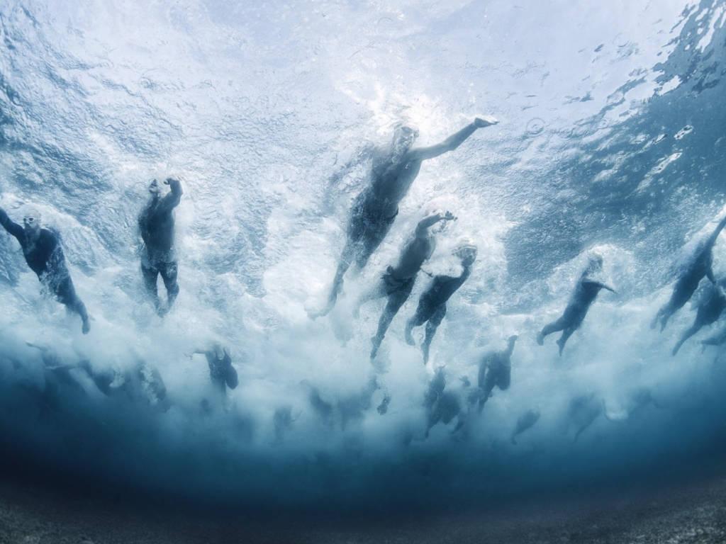 Davide Lopresti Swim The Island National Geographic