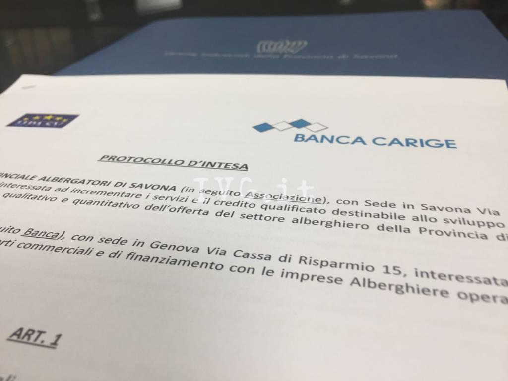 Accordo Carige-Unione Albergatori