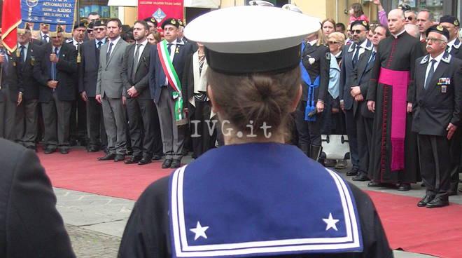 Albenga, cerimonia Marinai d'Italia