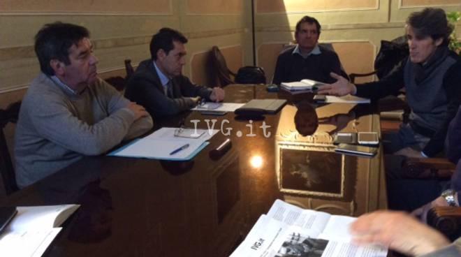 Albenga, in municipio una riunione sui fondi per l'alluvione