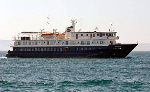 arethusa yacht