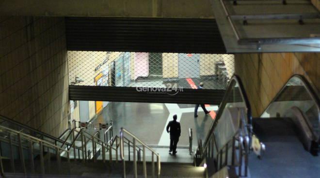 Bomba metro San Giorgio