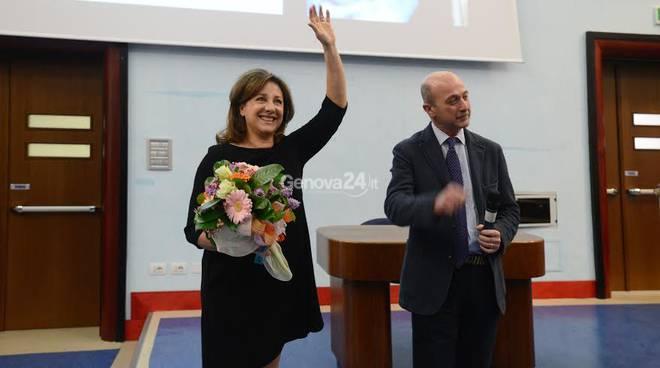 Carla Signoris al Gaslini