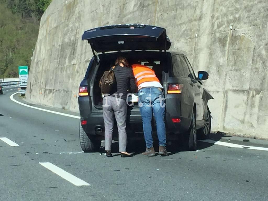 Incidente Stradale A10 Spotorno Feglino