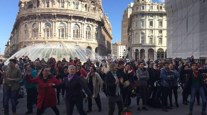 flash mob contro violenza