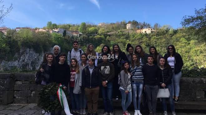 Gli studenti liguri in Venezia Giulia
