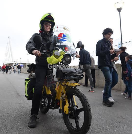 Henry Favre, il Giro d'Italia in Ciao