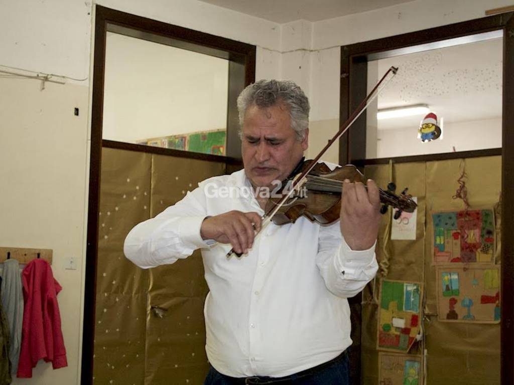 Il maestro Cornelio Teisan