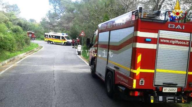 incidente albenga vigili del fuoco