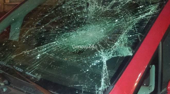 Incidente in via G.B. Monti (Foto di Paolo Zeggio)