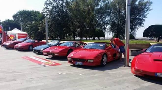 Le Ferrari alla Tam di Chiavari