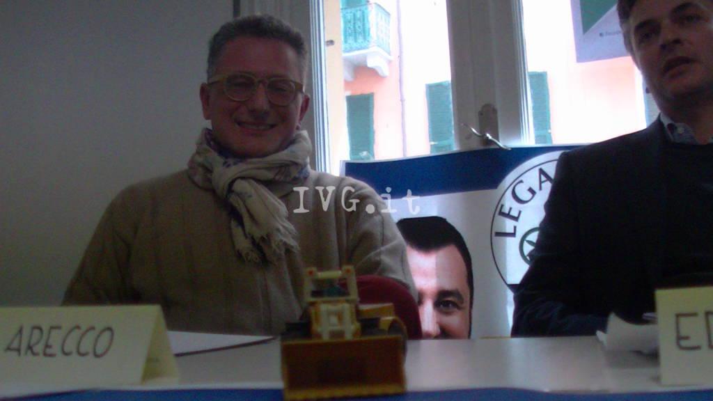 Lega Nord, candida Massimo Arecco