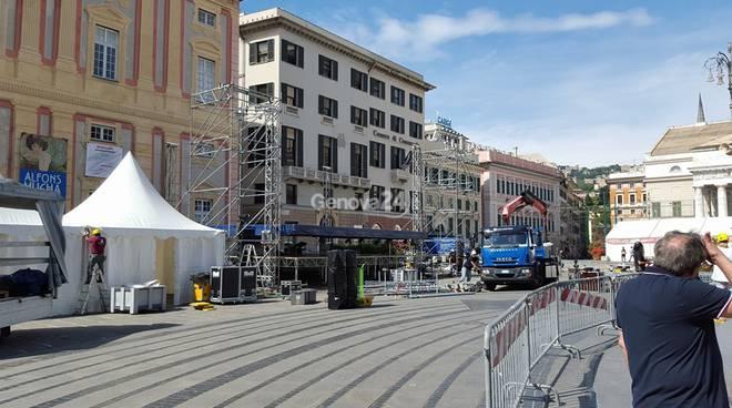 Manifestazione Primo Maggio a Genova, preparativi