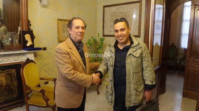 Maurizio Barsotti incontra Majid Farah