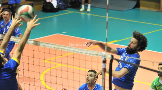 pallavolo Santa Sabina - Barbudos playoff Serie D maschile