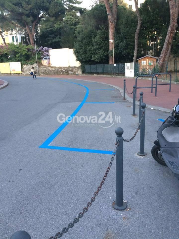 parcheggi piscine albaro