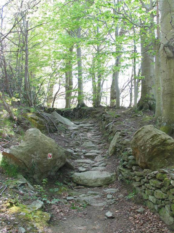 parco del beigua strada megalitica