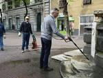 piazza settembrini pulizia