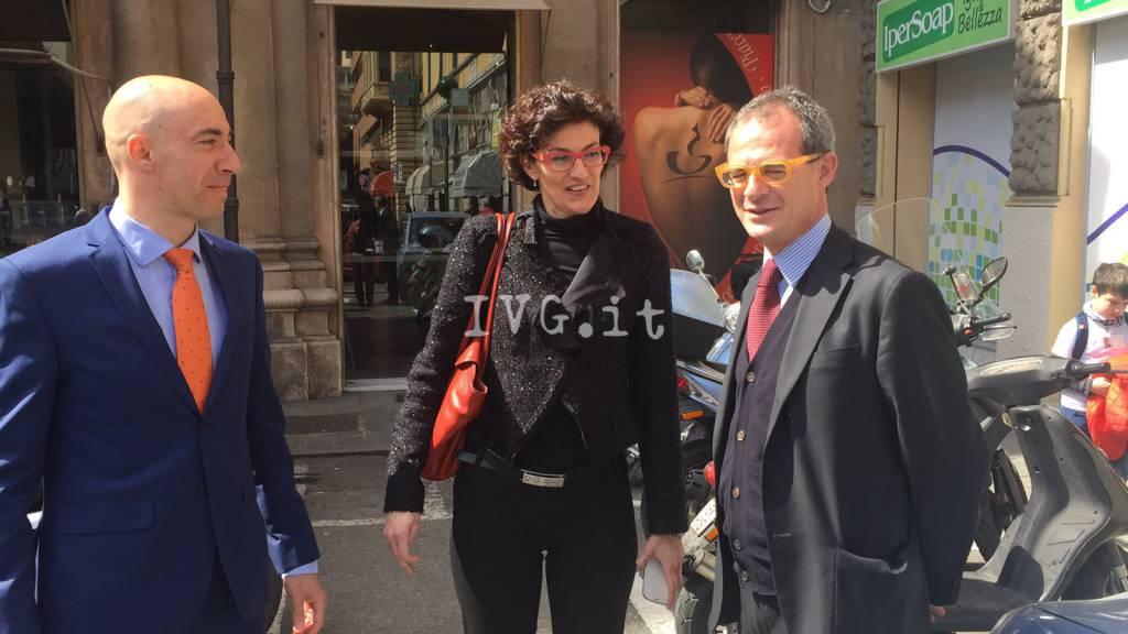 Savona 2016, Emiliano Martino candidato con Cristina Battaglia