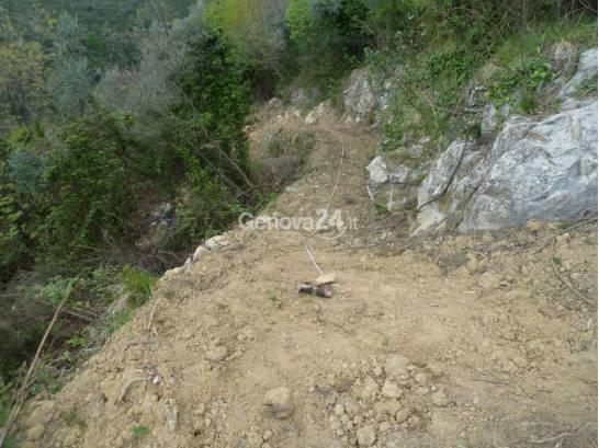 Strada sequestrata sul Monte Moro