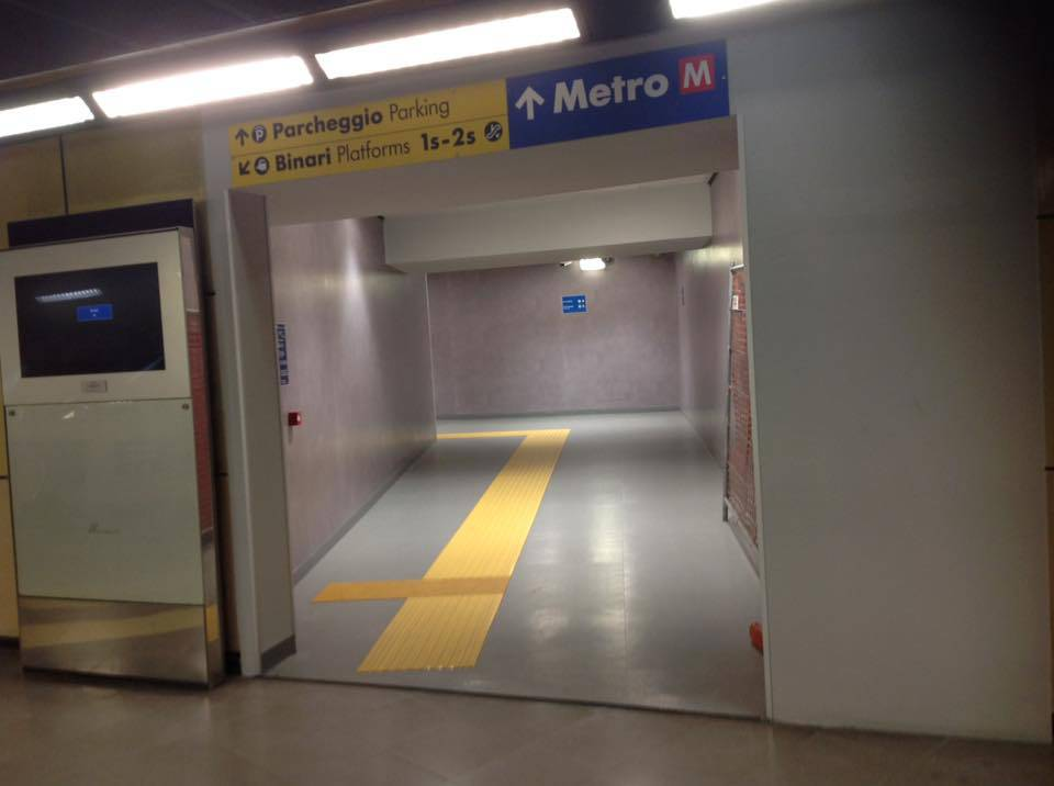 tunnel metro principe