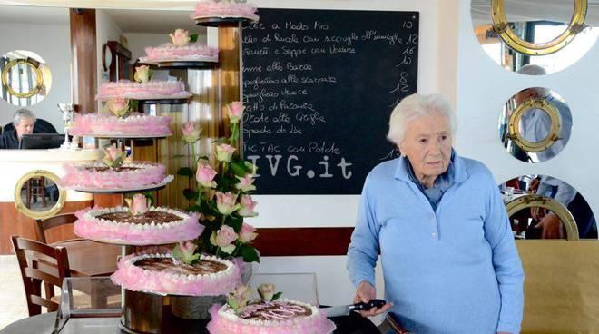 Maria Maddalena Gimelli Loano Centenaria