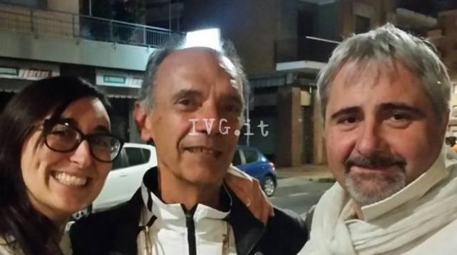 Giulia Tassara Gianni Siccardi Roberto Franco Loano Pd