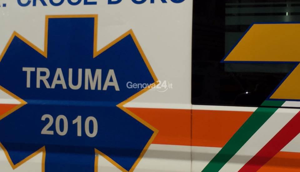 Ambulanza, Croce d'Oro Sampierdarena
