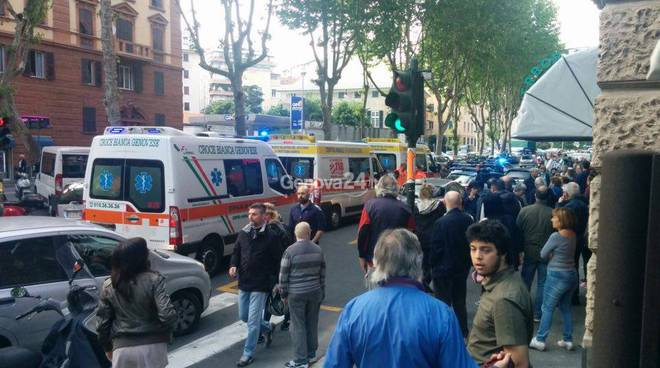 Aggressione in corso Sardegna, i soccorsi