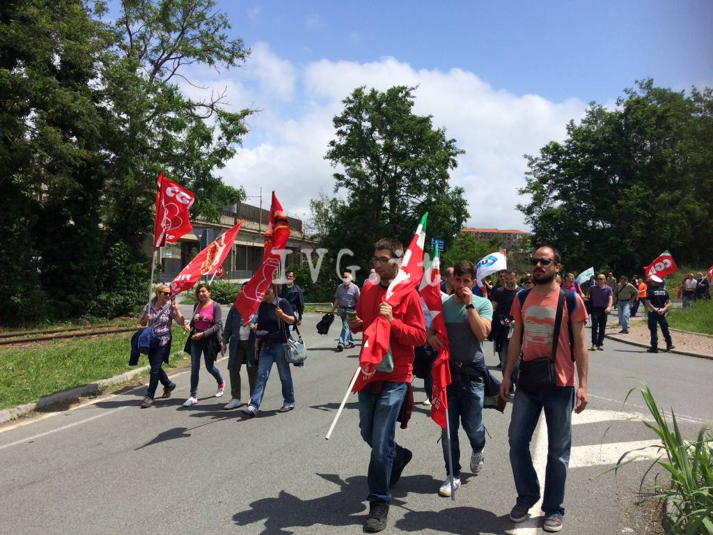Bombardier e Tirreno Power in sciopero