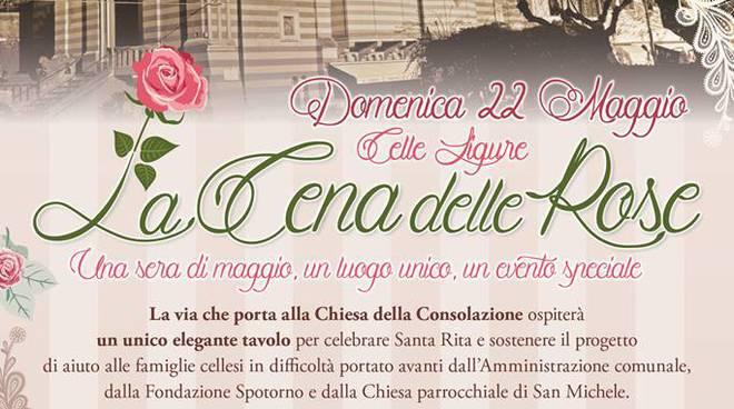 Cena delle Rose Celle Ligure