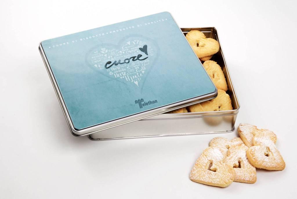 cuori di biscotto telethon
