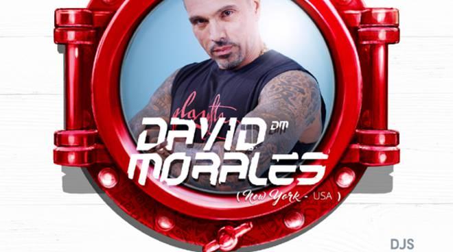 """David Morales alla Discoteca """"Le Vele"""" di Alassio"""