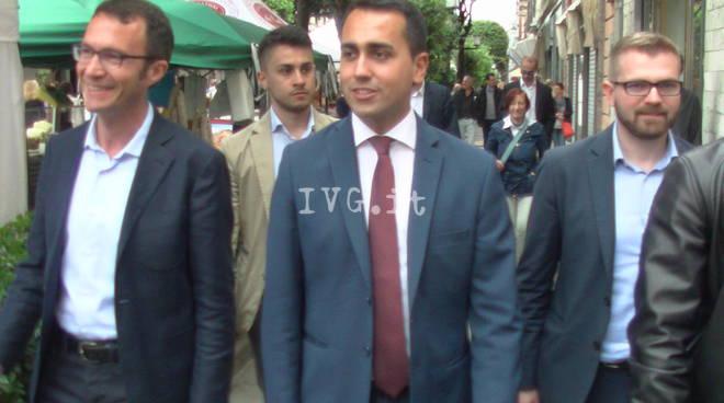 Di Maio a Genova con Beppe: M5S punta a governare la città