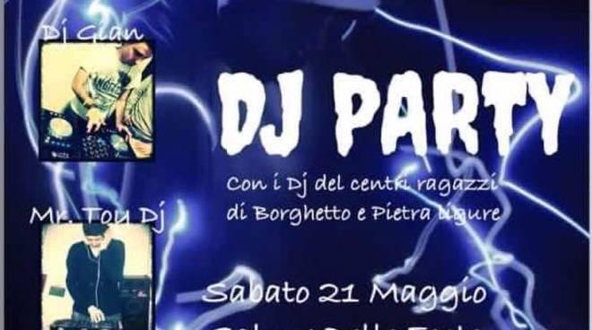 Dj Party a Borghetto Santo Spirito