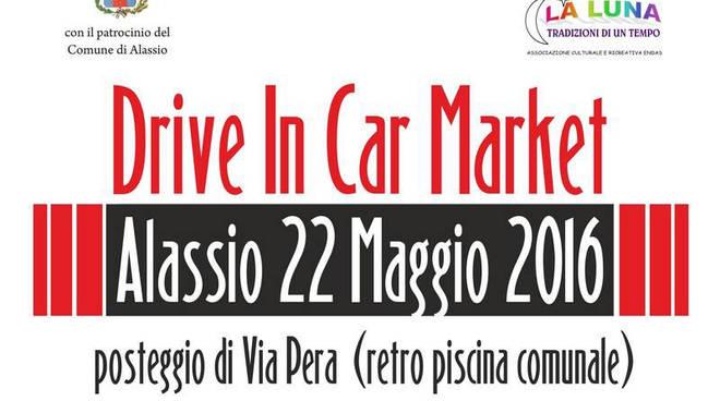 Drive In Car Market Alassio