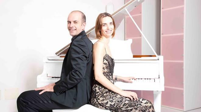 duo pianistico Sena Fini e Pietro Giorgini Loano
