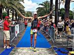Elia Mozzachiodi trionfa al 16° Triathlon Città di Pietra Ligure