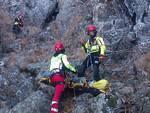 Soccorso Alpino, salvataggio escursionista