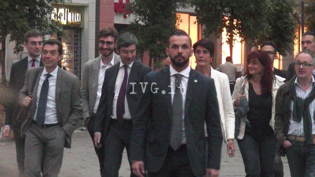 Il ministro Orlando per Cristina Battaglia