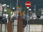 La rotonda dei tonni suicidi a Molassana